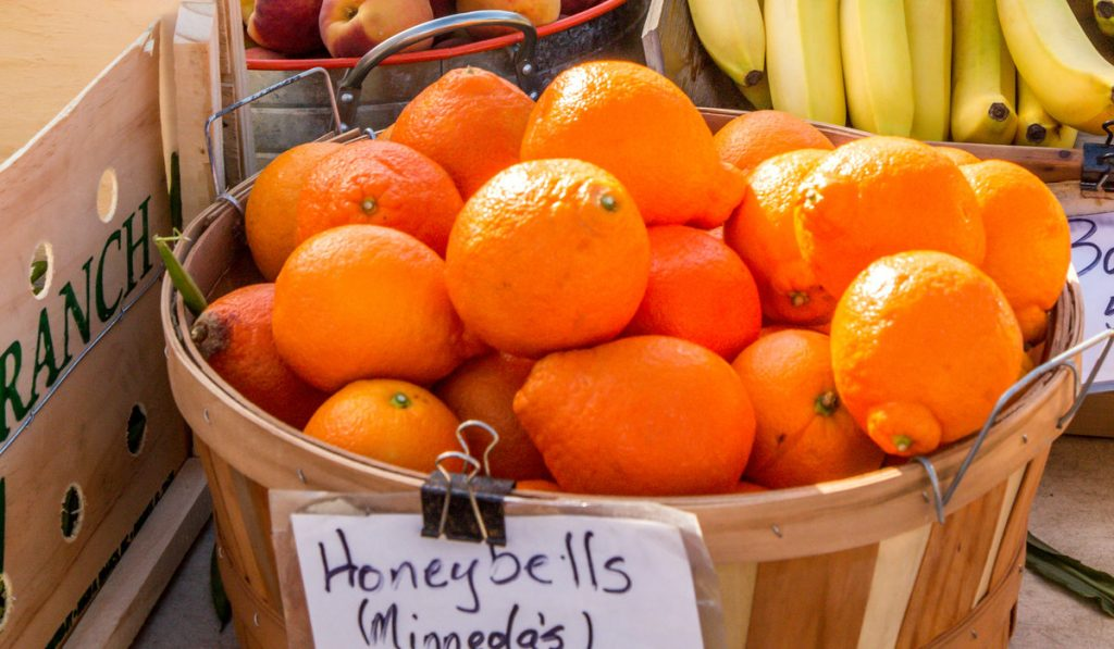 Oranges in the Venice Farmers Market